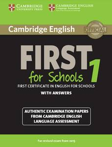 Cambridge English First for Schools 1 for updated exam | Dodax.nl