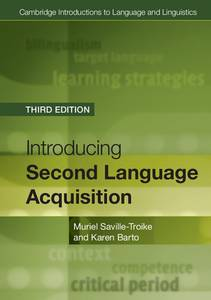 Introducing Second Language Acquisition Third Edition | Dodax.at