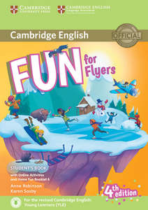 Fun for Flyers (Fourth Edition) - Student's Book with Home Fun Booklet and online activities | Dodax.at