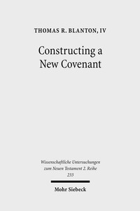 Constructing a New Covenant | Dodax.ch