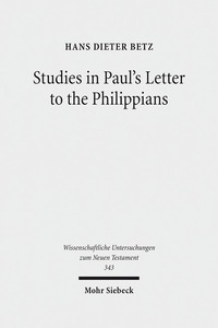 Studies in Paul's Letter to the Philippians | Dodax.ch