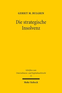 Die strategische Insolvenz | Dodax.at