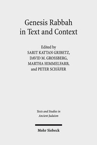 Genesis Rabbah in Text and Context | Dodax.ch