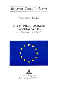 Modern Russian Adjectives Correlative with the Past Passive Participles   Dodax.pl
