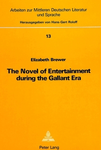The Novel of Entertainment During the Gallant Era | Dodax.pl