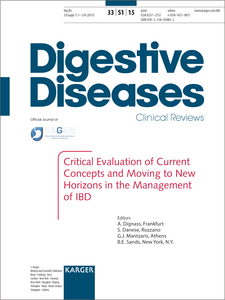 Critical Evaluation of Current Concepts and Moving to New Horizons in the Management of IBD | Dodax.ch
