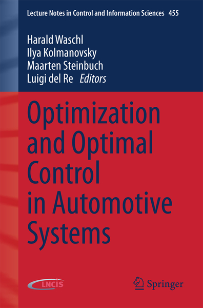 Optimization and Optimal Control in Automotive Systems | Dodax.ch