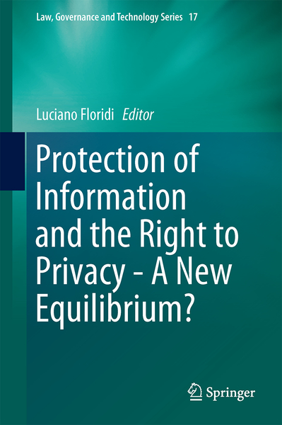 Protection of Information and the Right to Privacy - A New Equilibrium? | Dodax.at