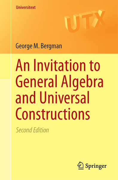 An Invitation to General Algebra and Universal Constructions | Dodax.pl