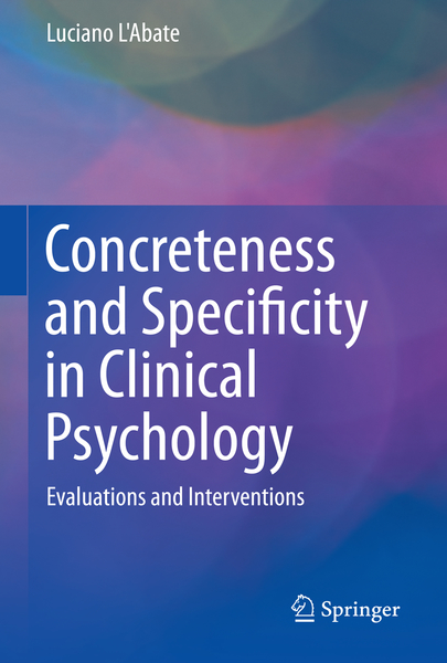 Concreteness and Specificity in Clinical Psychology   Dodax.ch