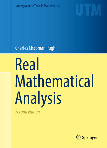 Real Mathematical Analysis | Dodax.ch