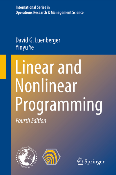 Linear and Nonlinear Programming | Dodax.pl