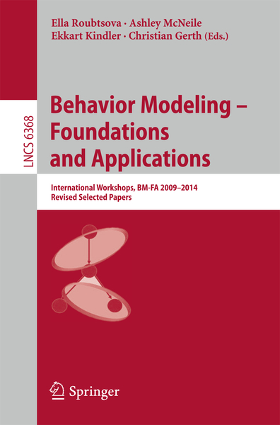 Behavior Modeling -- Foundations and Applications | Dodax.co.uk