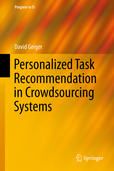 Personalized Task Recommendation in Crowdsourcing Systems   Dodax.nl