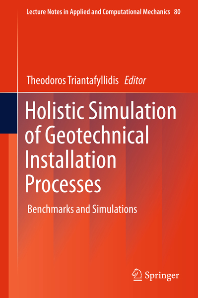 Holistic Simulation of Geotechnical Installation Processes   Dodax.nl