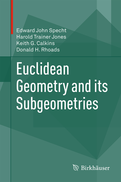 Euclidean Geometry and its Subgeometries | Dodax.co.uk