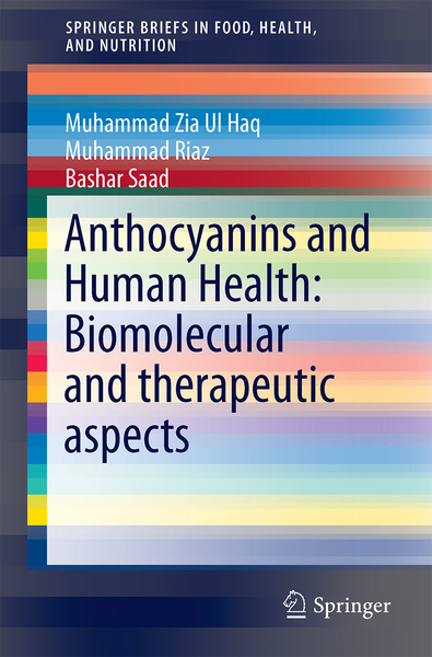 Anthocyanins and Human Health: Biomolecular and therapeutic aspects | Dodax.nl