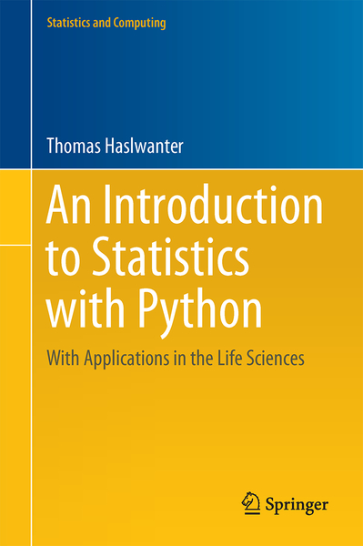 An Introduction to Statistics with Python | Dodax.pl