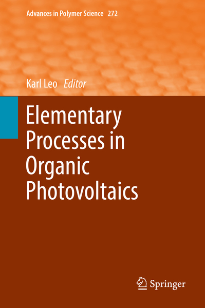 Elementary Processes in Organic Photovoltaics | Dodax.ch