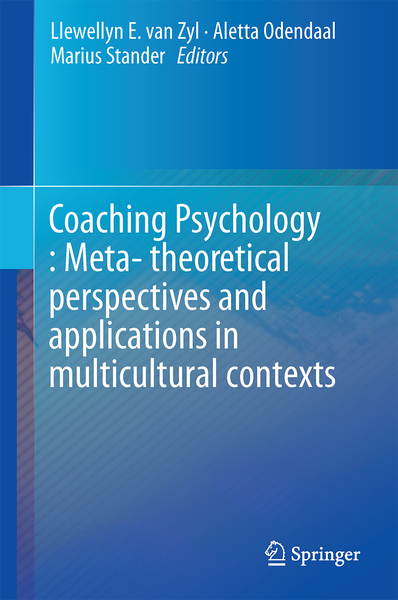 Coaching Psychology: Meta-theoretical perspectives and applications in multicultural contexts   Dodax.ch