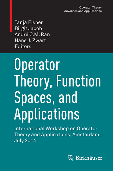 Operator Theory, Function Spaces, and Applications | Dodax.ch