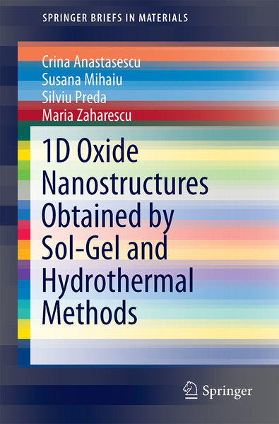 1D Oxide Nanostructures Obtained by Sol-Gel and Hydrothermal Methods | Dodax.pl