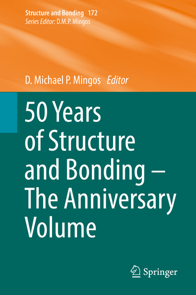 50 Years of Structure and Bonding - The Anniversary Volume | Dodax.ch