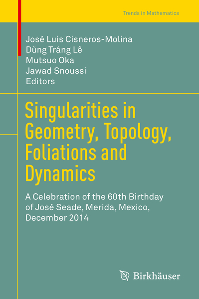 Singularities in Geometry, Topology, Foliations and Dynamics | Dodax.ch