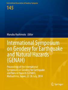 International Symposium on Geodesy for Earthquake and Natural Hazards (GENAH) | Dodax.ch