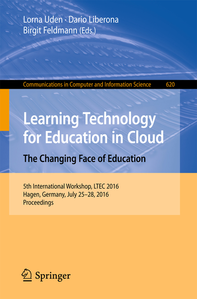 Learning Technology for Education in Cloud - The Changing Face of Education | Dodax.at