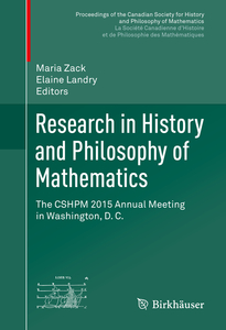 Research in History and Philosophy of Mathematics | Dodax.ch