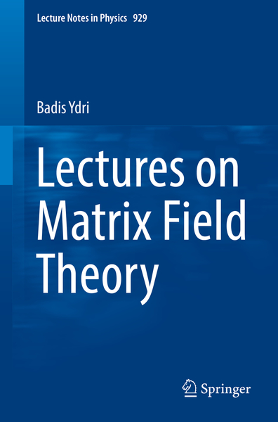 Lectures on Matrix Field Theory | Dodax.de