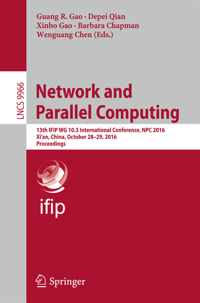 Network and Parallel Computing   Dodax.ch