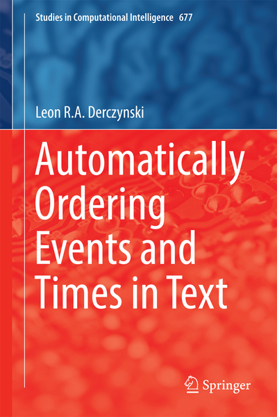 Automatically Ordering Events and Times in Text   Dodax.ch