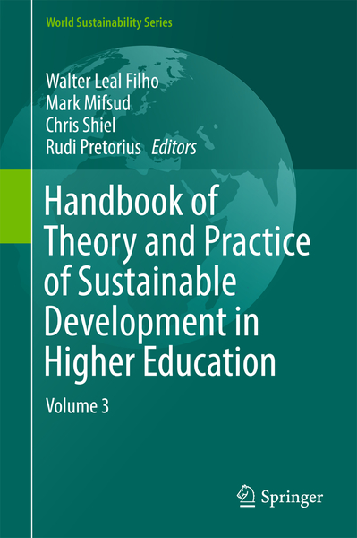 Handbook of Theory and Practice of Sustainable Development in Higher Education | Dodax.ch