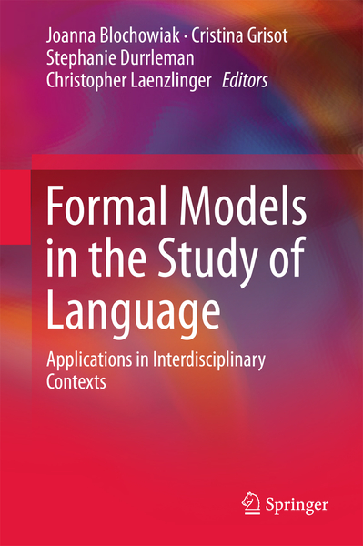 Formal Models in the Study of Language | Dodax.ch