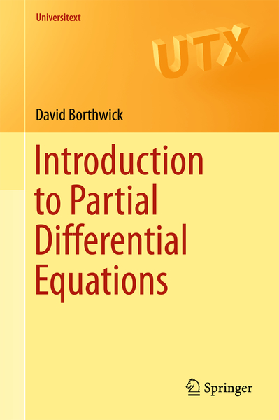 Introduction to Partial Differential Equations | Dodax.ch