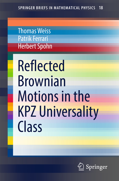 Reflected Brownian Motions in the KPZ Universality Class | Dodax.ch