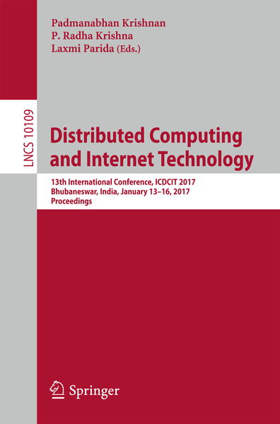 Distributed Computing and Internet Technology   Dodax.ch