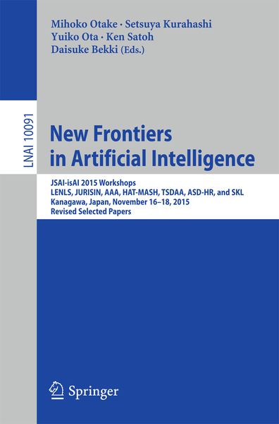 New Frontiers in Artificial Intelligence | Dodax.ch