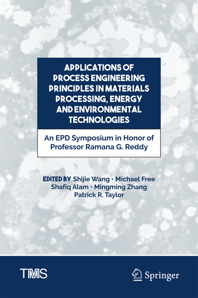 Applications of Process Engineering Principles in Materials Processing, Energy and Environmental Technologies | Dodax.ch