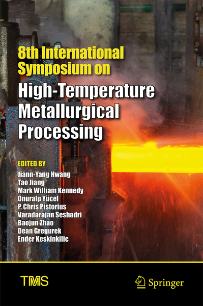 8th International Symposium on High-Temperature Metallurgical Processing | Dodax.ch