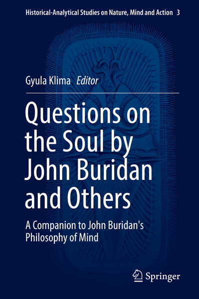 Questions on the Soul by John Buridan and Others   Dodax.ch