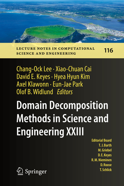 Domain Decomposition Methods in Science and Engineering XXIII | Dodax.ch