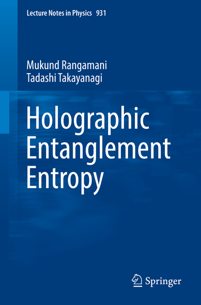 Holographic Entanglement Entropy | Dodax.ch
