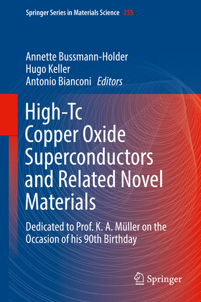 High-Tc Copper Oxide Superconductors and Related Novel Materials   Dodax.ch