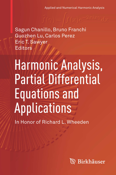 Harmonic Analysis, Partial Differential Equations and Applications | Dodax.ch