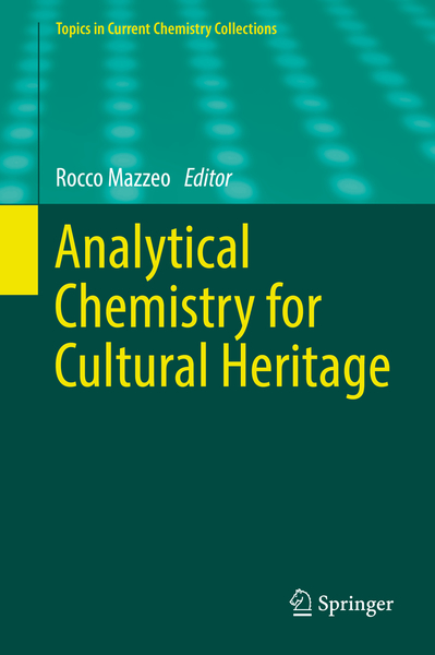 Analytical Chemistry for Cultural Heritage | Dodax.ch