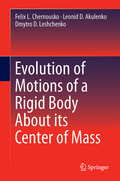 Evolution of Motions of a Rigid Body About its Center of Mass | Dodax.nl