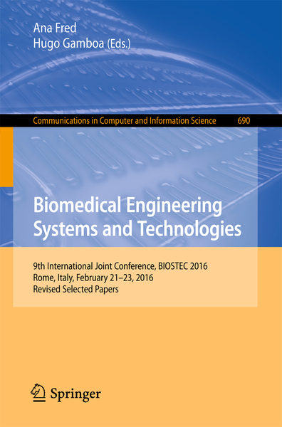Biomedical Engineering Systems and Technologies | Dodax.ch